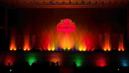 Dry Rides - Musical Fountain at Wonderla Kochi Amusement Park