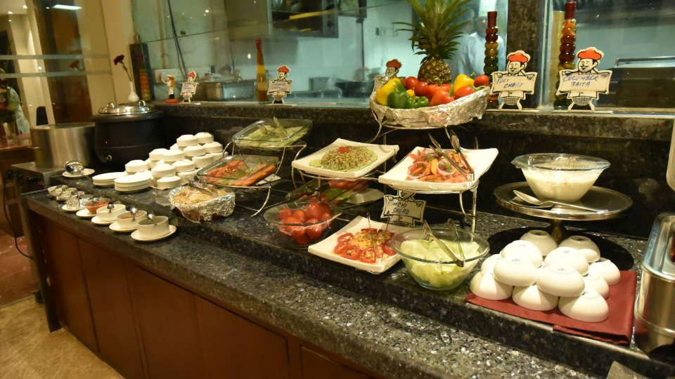 Restaurant Resort De Coracao Goa 9
