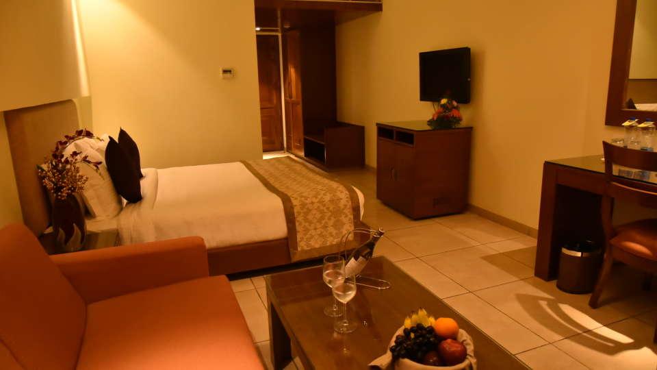 Suite Room Resort De Coracao Goa 4