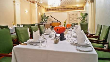 Society Restaurant at The Ambassador Hotel Mumbai - Best places to eat near Marine Drive