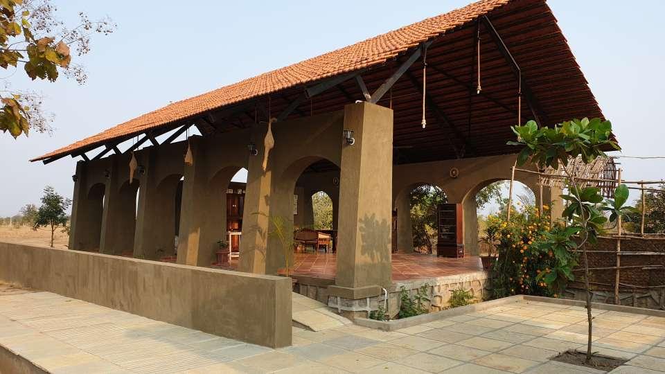 Reception cum Lounge Bodhvann Resort Tadoba 1 va5wd3