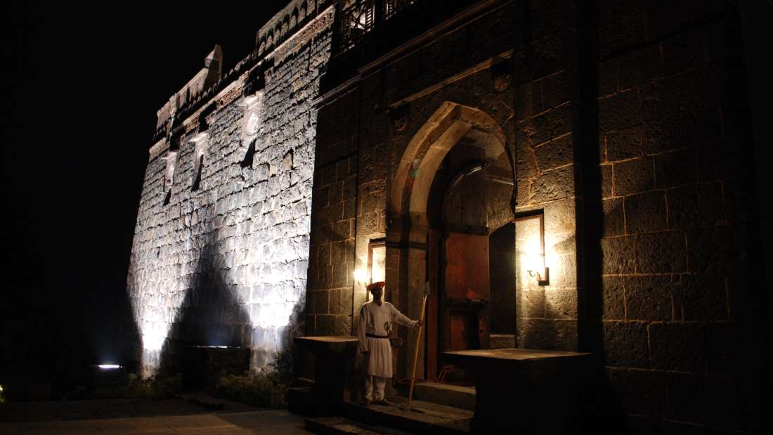 Exterior View of  Fort Jadhavgadh Heritage Resor Hotel Pune - resorts near mumbai