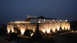 Exterior View of  Fort Jadhavgadh Heritage Resor Hotel Pune