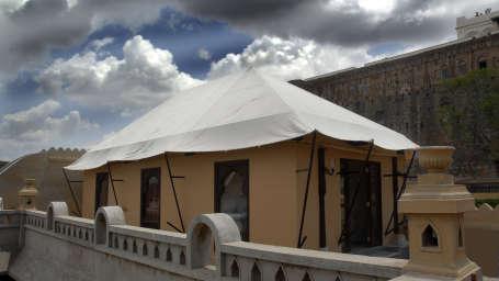 Royal Tents at Fort JadhavGADH Resort Near Pune and Mumbai