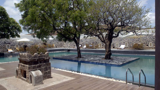 Swimming Pool Fort JadhavGADH Resort Near Pune and Mumbai