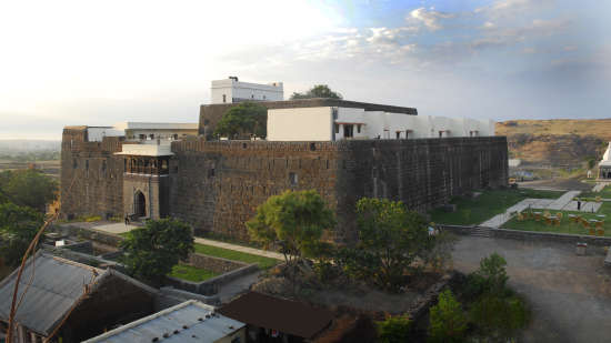 View of Fort JadhavGADH Resort near Pune and Mumbai