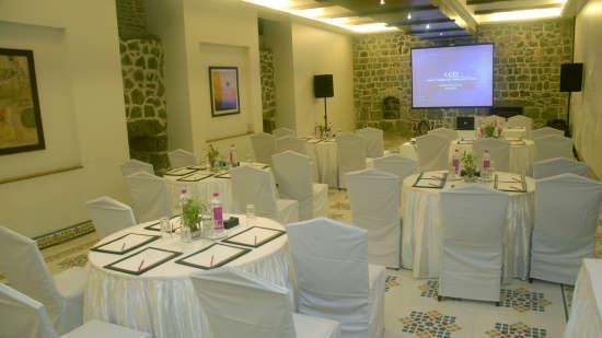 Prangan of  Fort Jadhavgadh Heritage Resort Hotel Pune