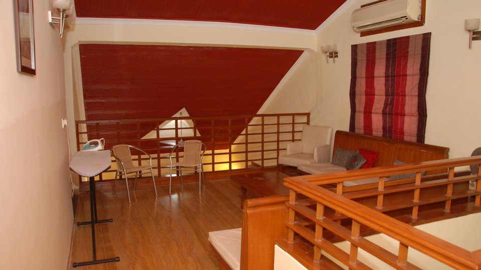 The Bungalows Light House, Goa Goa Sitting are on upper floor
