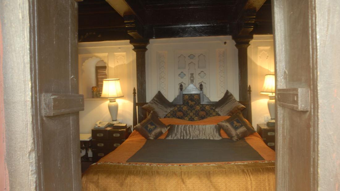 Maharani Suite at Fort Jadhavgadh Heritage Hotels and Resort Pune