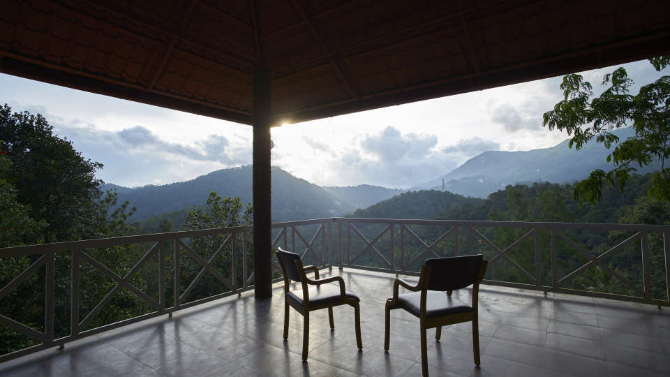 Valley View Room balcony Summit Indriya Resort and Spa Munnar