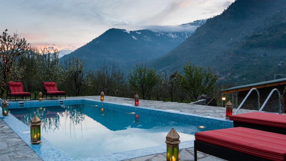 Pool LaRiSa Mountain Resort Manali 4 - Things to do in Manali
