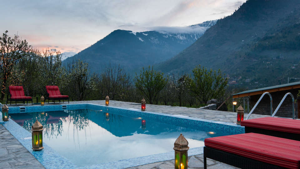 Pool LaRiSa Mountain Resort Manali 4 - Things to do in Manali