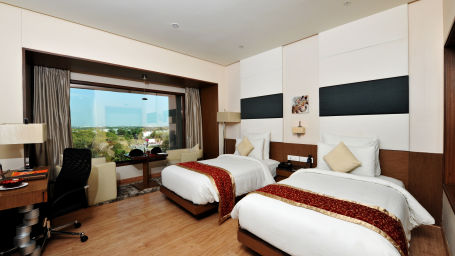Superior Room at Narayani Heights hotel ahmedabad, room in ahmedabad