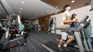 fitness centre at Narayani Heights ahmedabad, 4 star hotel in gandhinagar