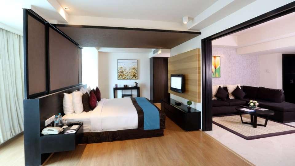 Davanam Sarovar Portico Suites, Bangalore Bangalore Deluxe Suite 2 Hotel Davanam Sarovar Portico Suites Madiwala Bangalore