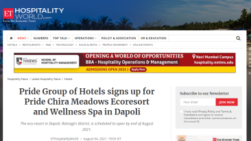 Pride-Group-of-Hotels-signs-up-for-Pride-Chira-Meadows-Ecoresort-and-Wellness-Spa-in-Dapoli-Hospitality-News-ET-HospitalityWorld