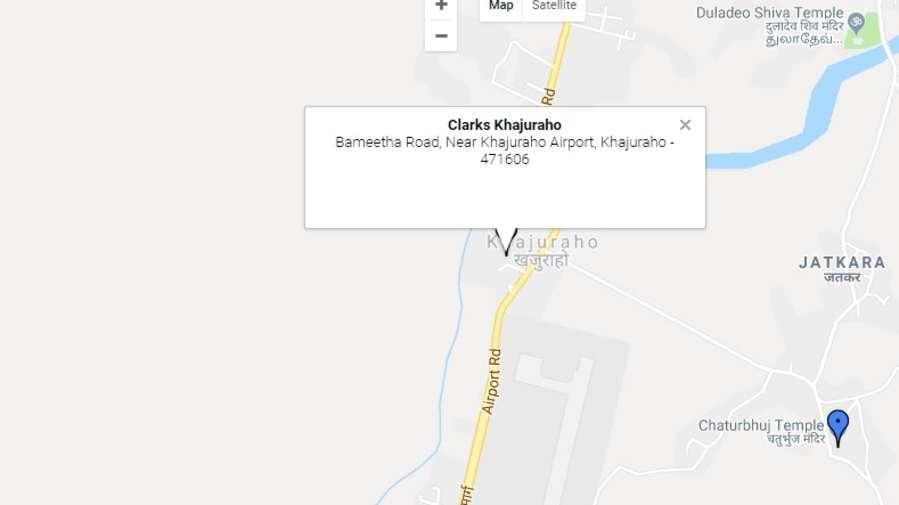 Location-Clark Khajuraho