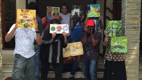 Artists At Amanvana Spa Resort Best Coorg Resort 3