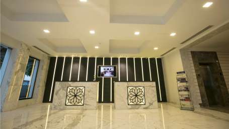 Hotel Southern Star Bengaluru Bengaluru Reception Lobby Hotel Southern Star Bangalore 1