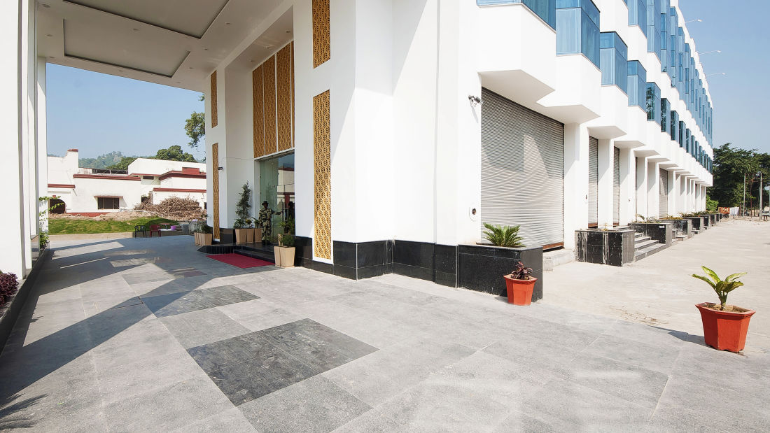 Le ROI Haridwar Hotel Haridwar Facade Le Roi Haridwar Hotel 8