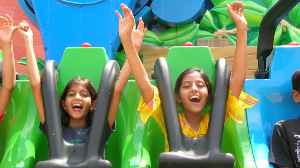 Thrillers Rides - Bamba at  Wonderla Amusement Park Bangalore