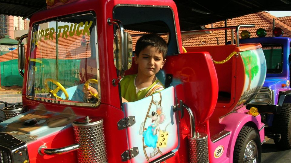 Kids Rides - Convoy at  Wonderla Amusement Park Bangalore