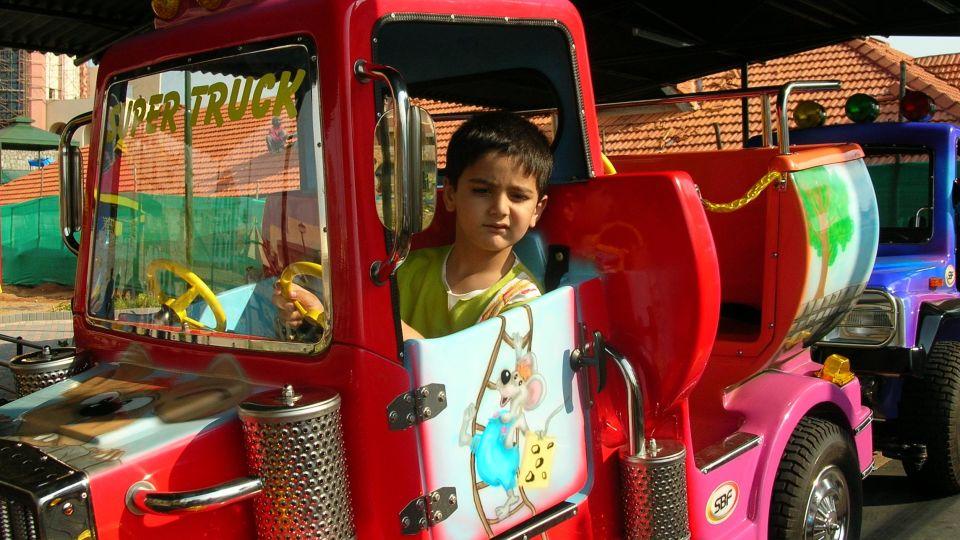 Kids Rides - Convoy at  Wonderla Amusement Park Bangalore