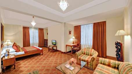 Junior Suite at The Ambassador Hotel Mumbai - Luxury Hotel Rooms in Churchgate