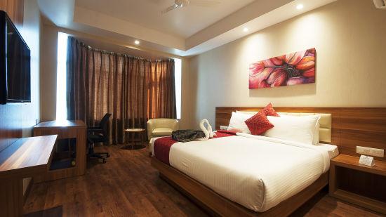 Le ROI Haridwar Hotel Haridwar Deluxe Room Le Roi Haridwar Hotel 2