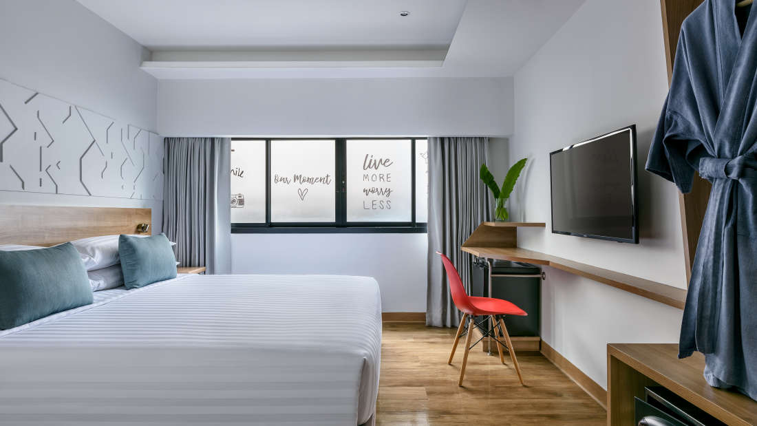 Hotel Vela Be Bangkok Ratchathewi - Vela Smart Room King Size Bed A