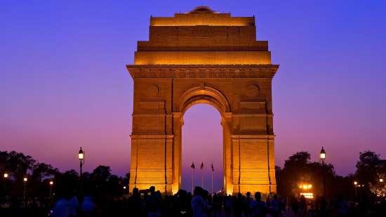 The India Gate  New Delhi  5621259188