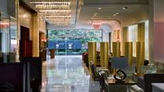 Lobby at  Park Inn, Gurgaon - A Carlson Brand Managed by Sarovar Hotels, business hotels in gurgaon 22