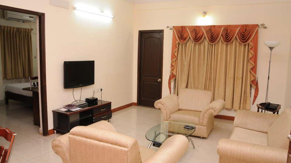 Maple Suites Serviced Apartments, Bangalore Bangalore Suite Living Room 3 Maple Suites Serviced Apartments Bangalore