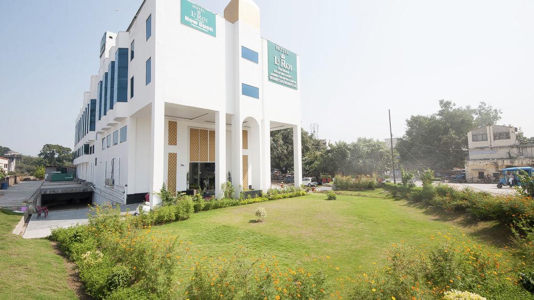 Le ROI Haridwar Hotel Haridwar Facade Le Roi Haridwar Hotel 5