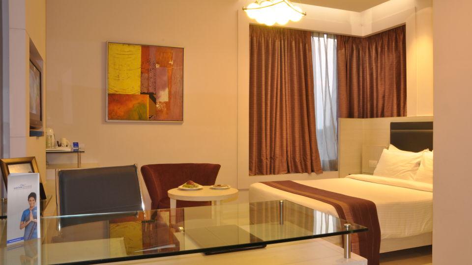 Deluxe Room at Hotel Sarovar Portico Naraina