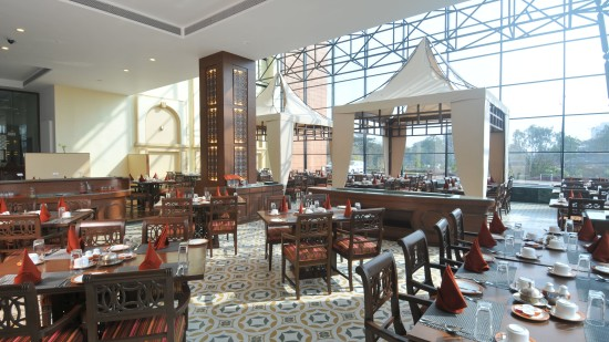 Boulevard Restaurant at The Orchid Hotel Pune 5 Star Hotel in Balewadi Pune