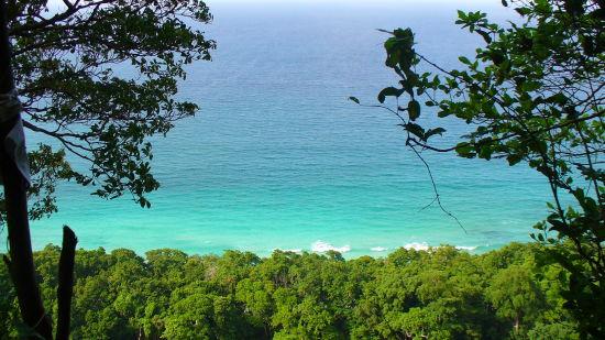 birdseye view of beach no 7 ribfg1