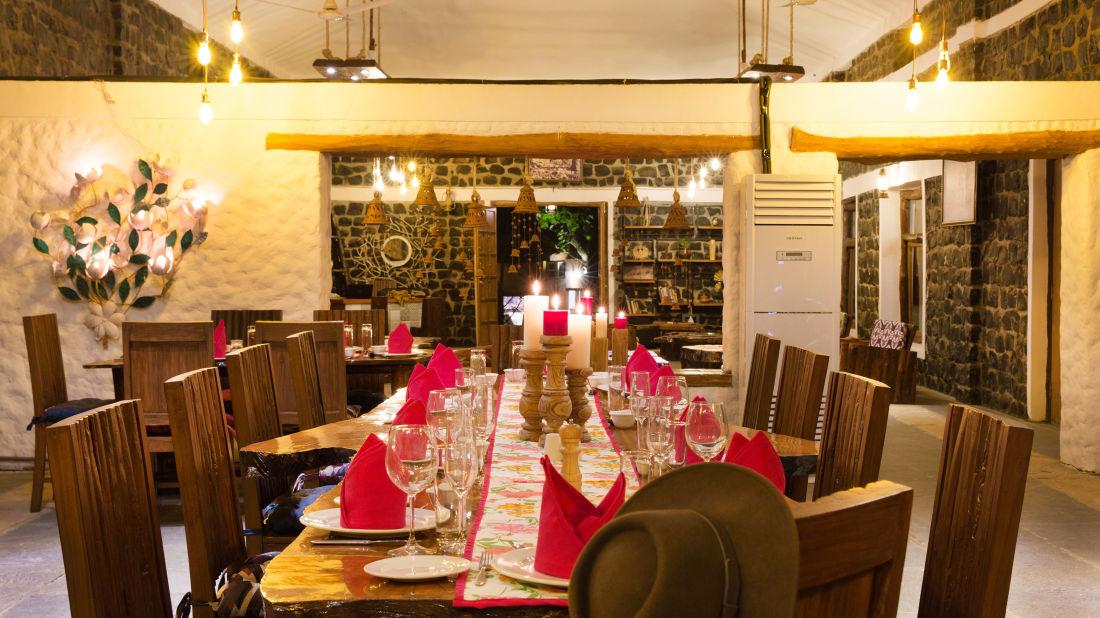 O Bite, Rosa Bandhavgarh Meadows Tiger Safari Lodge, Restaurant in Bandhavgarh
