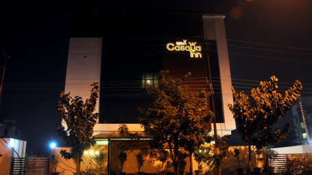 GenX Hotels India  Facade of GenX Casaya Inn Hotel Lucknow