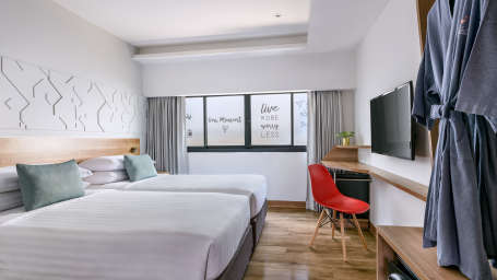 Hotel Vela Be Bangkok Ratchathewi - Vela Smart Room Twin Bed