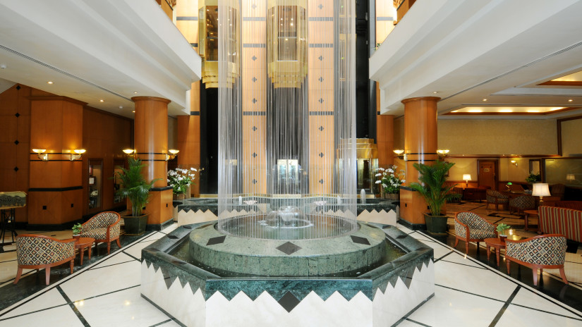Lobby of the orchid hotel mumbai vile parle - 5 star hotel near mumbai airport