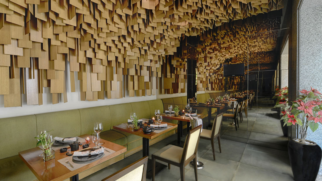 Woktok Private Dining Room at The Grand New Delhi Hotel on Nelson Mandela Road Best Restaurants In Delhi 112
