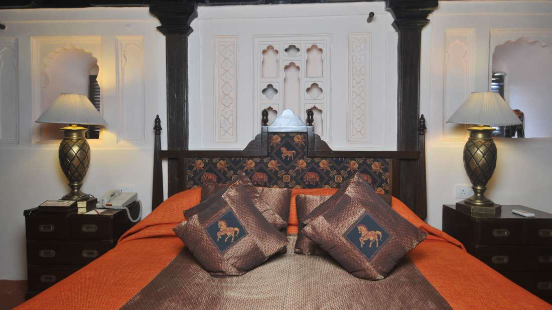 Maharaja Suite at Fort Jadhavgadh Heritage Hotels and Resort Pune