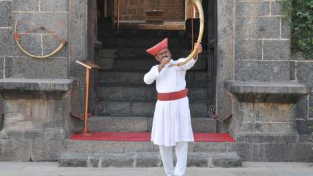 Entrance of Fort Jadhavgadh Heritage Resort Hotel Pune
