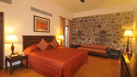 Premium Room of  Fort Jadhavgadh Heritage Resort Hotel Pune