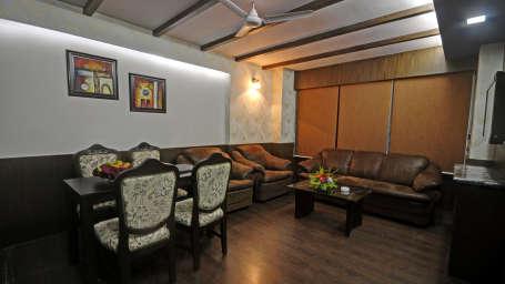 Suites in Puri, Separate Living Area, Rooms in Pride Ananya Resort