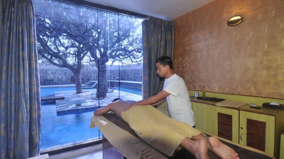 Spa at Fort Jadhavgadh Heritage Resort Hotel Pune