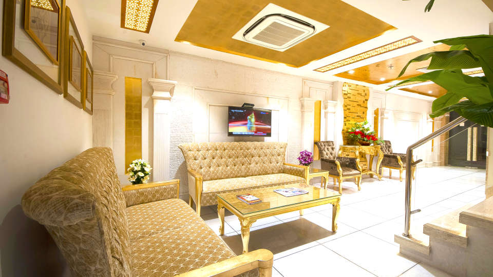 Hotel Swaran Palace, Karol Bagh, New Delhi New Delhi reception lobby 2 Hotel Swaran Palace Karol Bagh New Delhi