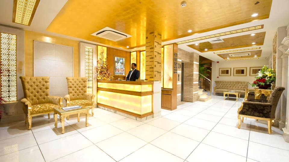 Hotel Swaran Palace, Karol Bagh, New Delhi New Delhi reception lobby 6 Hotel Swaran Palace Karol Bagh New Delhi