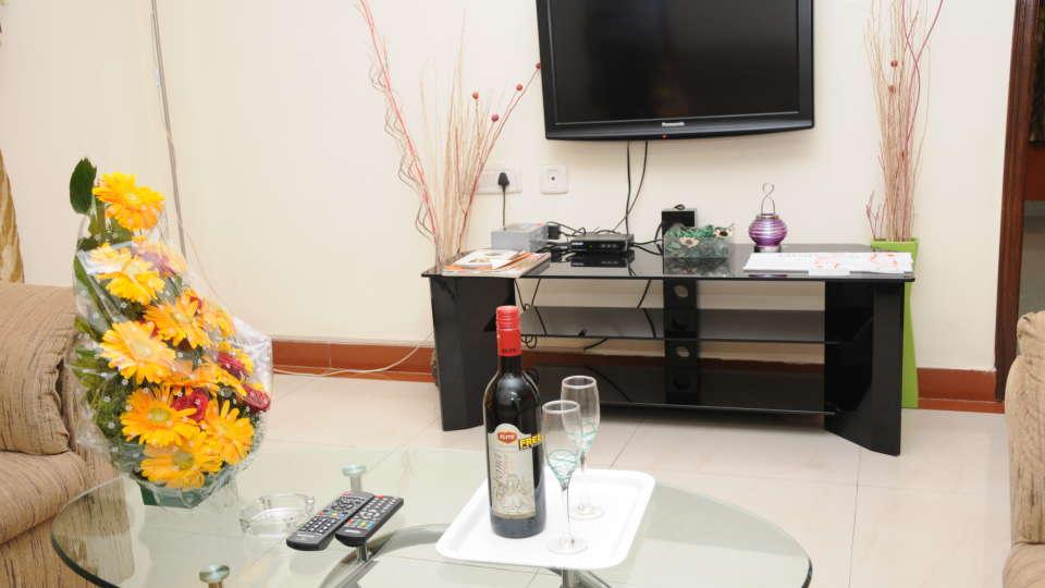 Maple Suites Serviced Apartments, Bangalore Bangalore Suite Living Room 1 Maple Suites Serviced Apartments Bangalore